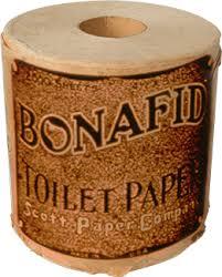 Old SCott Paper Company toilet paper