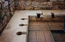 Public Roman bathroom