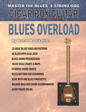 3-string cigar box learning book