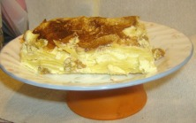 cream cheese kugel