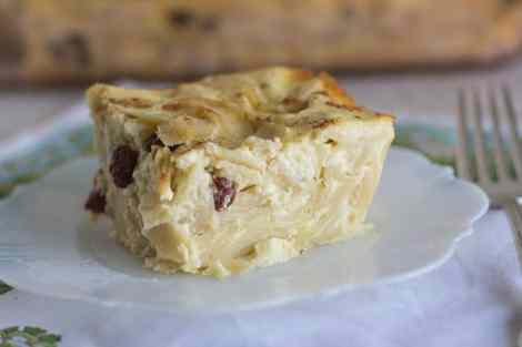 Portion of Kugel