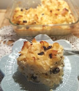 sweet raisin kugel