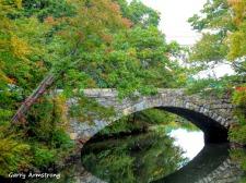 Stone bridge over the Blackstone River