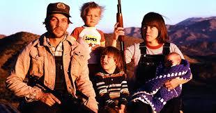 Her gun toting, survivalist family