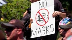 anti-mask - sign
