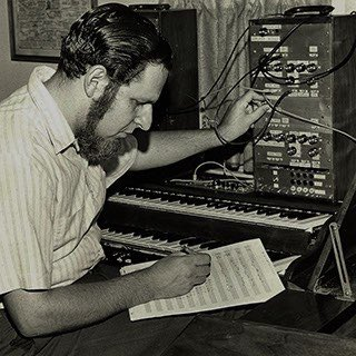 herb Deutsch and moog synthesizer