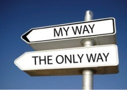 My way only way narcissm