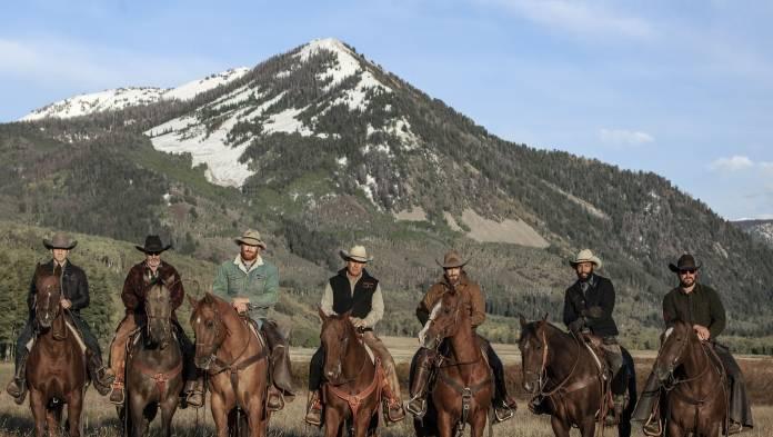 Yellowstone on location