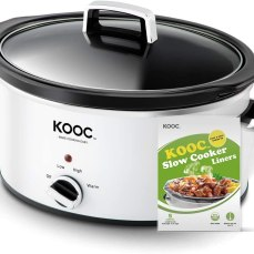 Kooc slow cooker and cooking bags